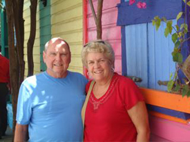 The Montagne family: clients of Charleston Travel Agency's Vacation Inspirations