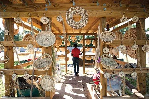 Sweetgrass Cultural Arts Festival Gullah Culture Event Mt Pleasant South Carolina