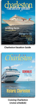 Free Charleston Vacation Magazine and Charleston Cruise Schedule Magazine offer